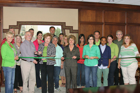 Clarksville-Montgomery County EDC Green Certification Ribbon Cutting Ceremony.