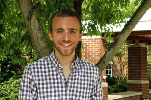 APSU Graduate Chase Davenport.