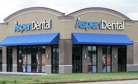 AspenDental located at 2702 Wilma Rudolph Boulevard in Clarksville, TN.