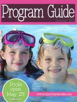 Clarksville Parks and Recreation Program Guide - Summer 2013
