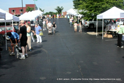 Clarksville Downtown Market to close early due to heath this Saturday.