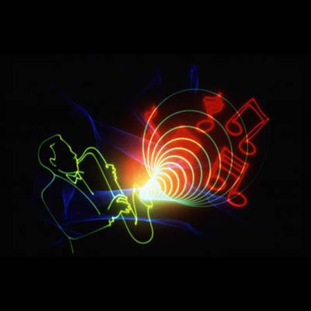 Golden Pond Planetarium Laser Image