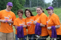 Some of the members of the Montgomery County Relay for Life Committee