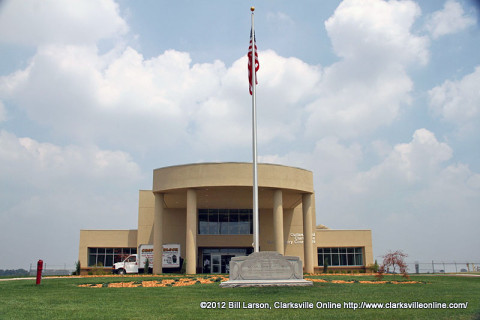 Outlaw Field's Terminal Building