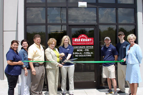 Red Knight Distribution Green Certification Ribbon Cutting