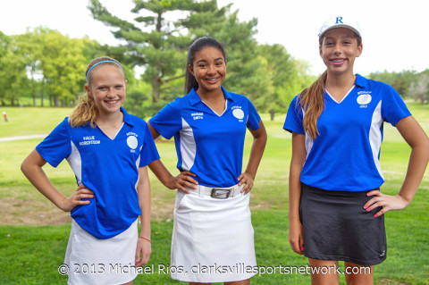 Richview Middle School Lady Cowboys won the District M2 Golf Title