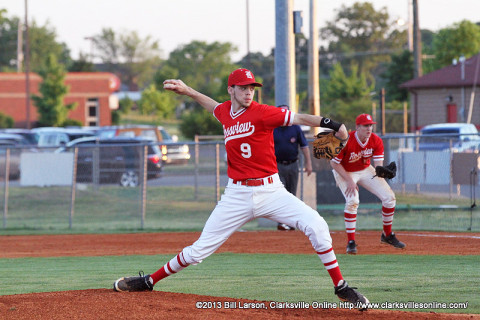 Rossview High School Baseball's Taylor Mahowald.