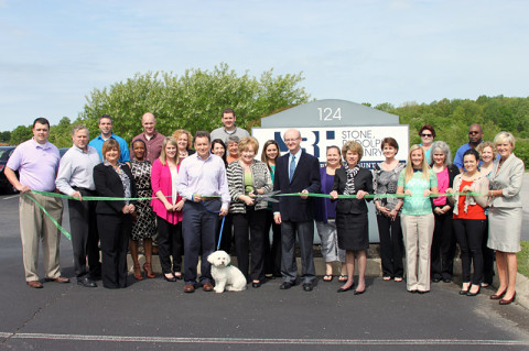 Green Ribbon Cutting Ceremony for Stone, Rudolph & Henry