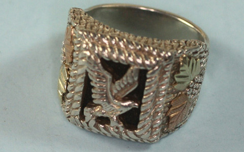 This ring is similar to the one found on the victim's left hand ring finger. Anyone with information is asked to call 911 immediately.