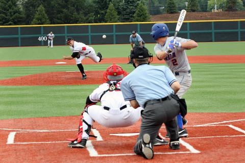 APSU's Pitcher Zack Hall. (Lisa Kemmer - Clarksville Sports Network)