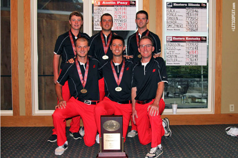 Austin Peay Men's Golf Team. (Courtesy: Austin Peay Sports Information)