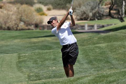 APSU Golf's Dustin Korte. (Courtesy: Austin Peay Sports Information)