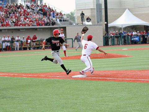 Austin Peay Baseball vs Indiana. (Lisa Kemmer - Clarksville Sports Network)