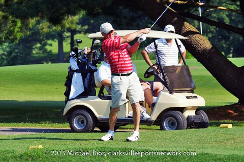 Bud Light Two-Man Scramble at the Swan Lake Golf Course. (Michael Rios - Clarksville Sports Network)