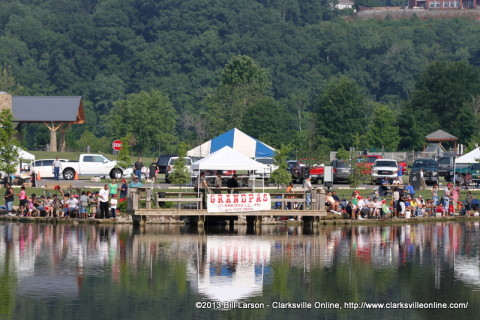 The 2013 TWRA Youth Fishing Rodeo at Liberty Park
