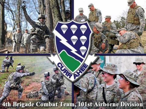 101st Airborne Division's 4th Brigade Combat Team - Currahee