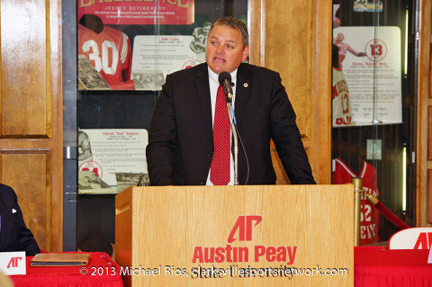 APSU's Athletic Director Derek van der Merwe.