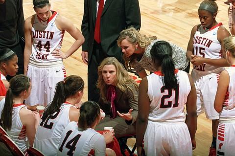 Austin Peay Women's Basketball. (Brittney Sparn/APSU Sports Information)