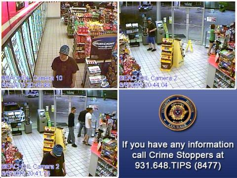 BP Robbery Suspect
