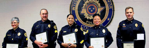 Clarksville Police Department Promotions
