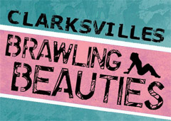 Clarksville Brawling Beauties roller derby bout