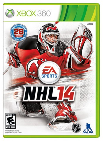 EA SPORTS NHL® 14 cover - Martin Brodeur