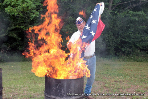 Flag Day Retirement Ceremony