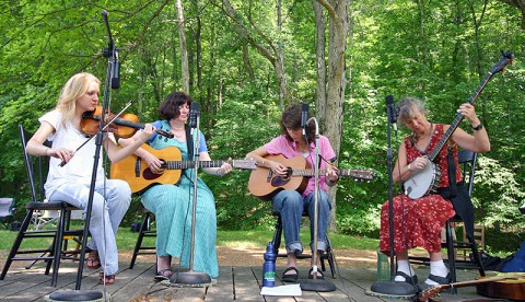 Old-Time Music Festival at LBL June 14th and 15th. (Land Between the Lakes)