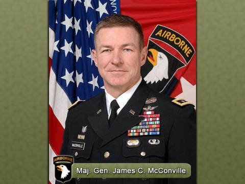 Major General James C. McConville