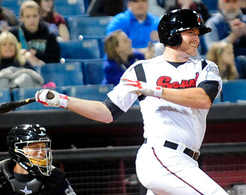 Nashville Sounds Baseball. (Mike Strasinger - Nashville Sounds)