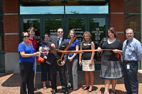 Executive Legal Professionals ribbon-cutting Ceremony at the Clarksville Area Chamber of Commerce.