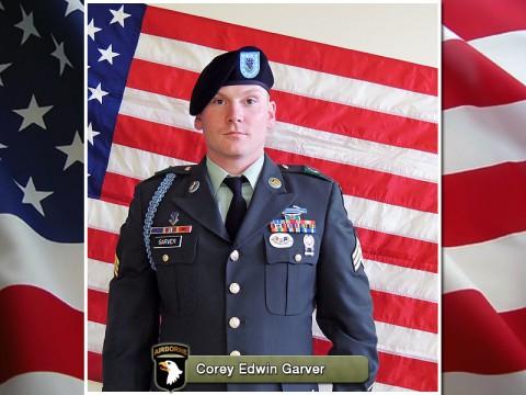 Fort Campbell fallen soldier Sergeant Corey Edwin Garver