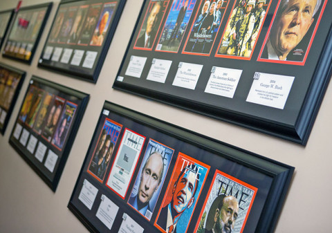 Time Magazine Person of the Year Exhibit at APSU