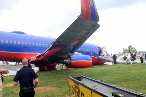 Southwest Airlines Flight #345. (Emmett Shaffer)