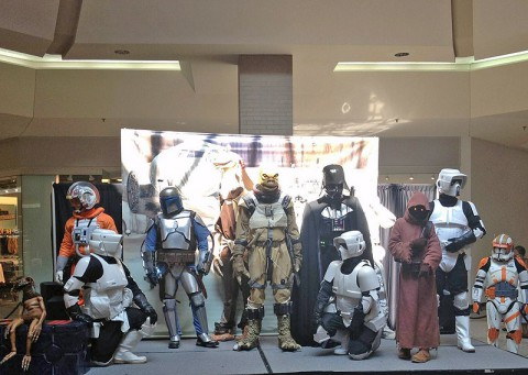 The 501st Legion Mid-South Garrison 2012 Charity Meet & Greet at Governor's Square Mall. Characters are subject to change.