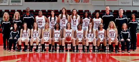 APSU Lady Govs Basketball - 2012-2013