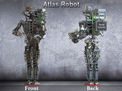 Atlas robot, built by Boston Dynamics