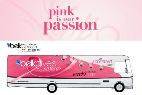 BelkGives on the Go Mobile Mammography Center coming to Clarksville.