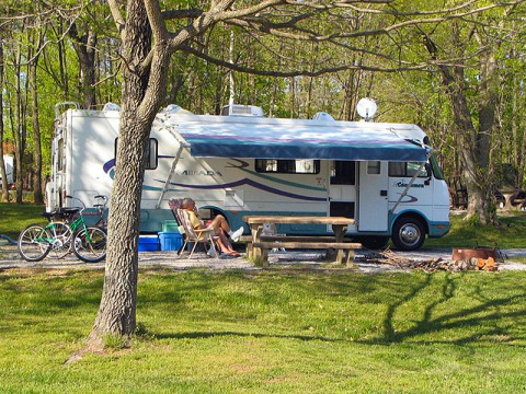 Rented RVs are now required by Tennessee law to have a functioning carbon monoxide detector.