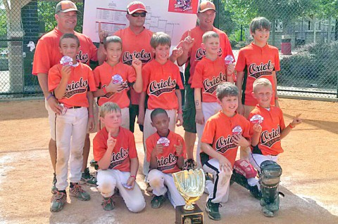 Clarksville Orioles Baseball Team. (Clarksville Online)