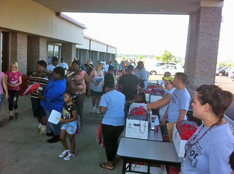 Back-to-School Bash at Daymar Institute