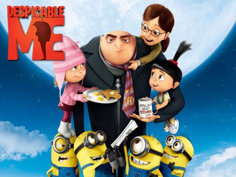 "Movies in the Park to show ""Despicable Me"" Saturday, July 13th."