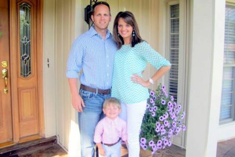 Emmett and Jessica Shaffer and son Jaxson