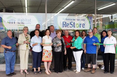 Habitat for Humanity and Habitat ReStore Green Ribbon Ceremony