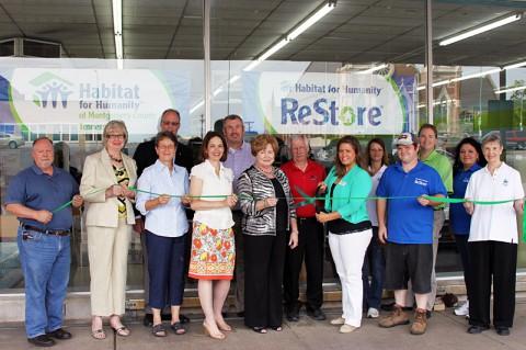 Habitat for Humanity and Habitat ReStore Green Ribbon Ceremony