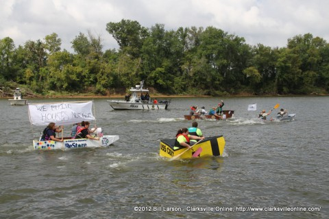 The 2012 Riverfest Regatta