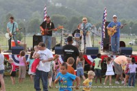 The Beagles performing at the City of Clarksville's July 3rd Celebration