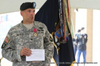 Col. Walrath during his remarks