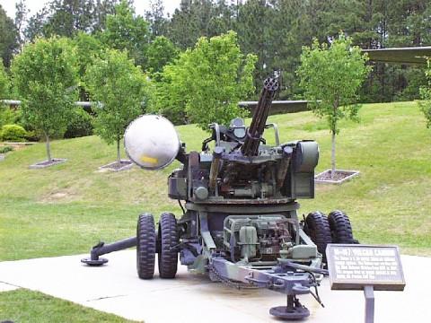 M167 Vulcan air defense weapon system.