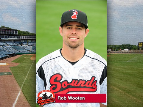 Nashville Sounds Pitcher Rob Wooten